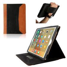 Genuine Leather Sleep/Wake Smart Case Cover for New iPad 2017 iPad Air 2 Pro 9.7