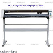 """New Wide Format Contour Cutting Plotter 48"""" Vinyl Cutter & Winpcsign 2012 Basic"""
