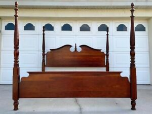 Solid Cherry King Bed by Pennsylvania House
