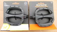 Pedals Sunlite Grabber Platform Nylon 9/16 or 1/2 Black STRAP COMPATIBLE 1 Pair