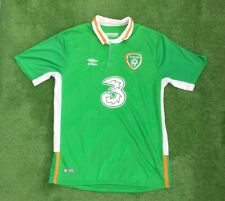REPUBLIC OF IRELAND FOOTBALL HOME SHIRT 2015-16 SIZE LARGE ADULT