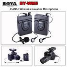 BOYA BY-WM5 Wireless Lavalier Microphone for Nikon Canon DSLR Camera Camcorder