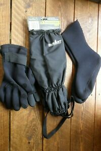 Neoprene Gloves, Bivvy Socks & Summit Gaitors Fishing, Hiking Hunting Ect