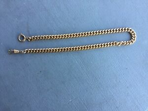 Vintage pocket watch chain used