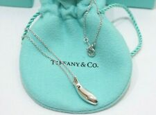 """Tiffany & Co. Sterling Silver Frank Gehry Fish Pendant Necklace 16"""""""