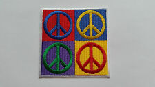 ANTI-WAR CND HIPPIE PEACE SEW ON / IRON ON PATCH:- NAME TO FOLLOW NUMBER 0064