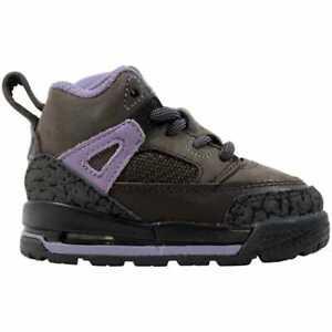 Nike Air Jordan Winterized Spizike Velvet Brown/black 414841-201 Toddler Size 4C
