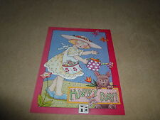 """Mary Engelbreit Any Occasion Blank Greeting Card & Envelope~5 1/2"""" X 4 1/4"""", New"""