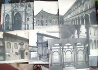 1900 MILANO 7 FOTO ORIGINALI PALAZZO PONTI PALAZZO SILVESTRI PORTA ROMANA...