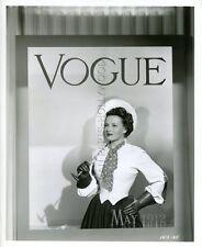 SHIRLEY BALLARD VOGUE COVER EASTER PARADE 1948 VINTAGE PHOTO ORIGINAL #7