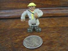 Fisher Price Geo Trax replacement Train Zoo Keeper Leo AA safari man guy figure