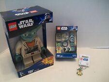 Lego #9002069 Star Wars Yoda Watch & Alarm Clock-Key Chain Bundle NIB 2009-2011!