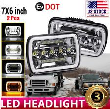 "5x7"" 7x6"" LED Headlight H6054 Sealed for Ford E-100 E-150 E-250 E-350 Econoline"