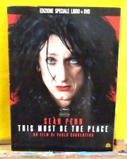 Sorrentino THIS MUST BE THE PLACE - ed speciale libro + dvd - Medusa Film 2011
