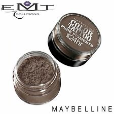 Maybelline Color Tattoo Pure Pigments Loose Eyeshadow - Downtown Brown 45 - New