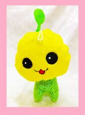"7.5""  Cute Green Budding Plant Happy Smile Shining Body Doll with Harness"