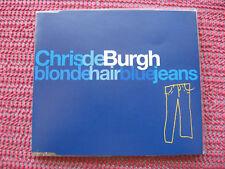 Chris de Burgh Blonde hair blue jeans CD 1994