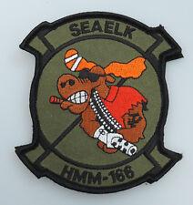 HMM-166 SEAELK U.S. Marine Patch- 2 Piece (H&L)