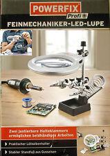 BUENO Powerfix Mecánico de precisión LED Lupa+mecánico de precisión