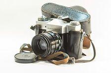 Helios 44-2 (Zebra) 58 mm f/2 + Zenit B M42 MMZ / KMZ USSR Zenit Vintage