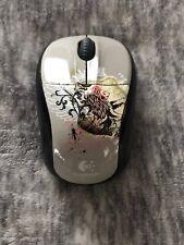 logitech m305 wireless mouse Rare Design Comes W/O USB Receiver