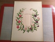 """Antique Colorful Page from Victorian Photography Album"""" T.J.S.S. & C9"""""""