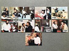 PIED-PLAT SUR LE NIL - 9 photos d'exploitation STENO, BUD SPENCER, ENZO CANNAVAL