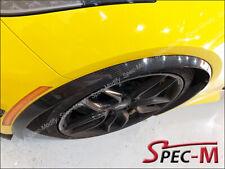 CARBON FIBER Front Fender Trim Flare Extension For 2014+ Corvette C7 Stingray CF