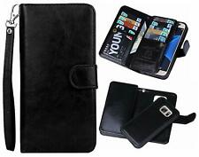 Samsung Galaxy S7 Edge Wallet Case Detachable Magnetic Back With ID & Card Slots
