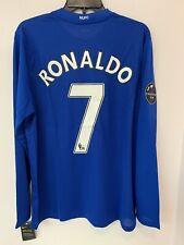 Nike Cristiano Ronaldo #7 Manchester United 2007/08 UCL & CWC Winners Men's L