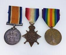 Set of 3 WW1 Medals_Star Medal Victory Medal War Medal 1914-1918