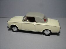 CAPOTE  FERMEE  1/43  PEUGEOT 403 CABRIOLET  NOREV  BY  VROOM  CAR  NOT  INCLUDE