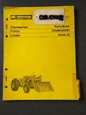 CHAMBERLAIN 65091 JOHN DEERE F1000 LOADER PARTS BOOK