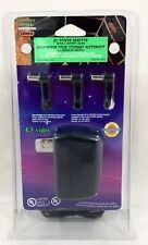 Lemax Spooky Town Collection 4.5V AC Power Adaptor with 3 Output Jacks No. 44242
