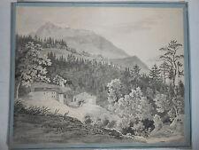 Zellergraben Furth Göttweig MARTIN MARTIN München 1838 Biedermeier Alpen Mühle