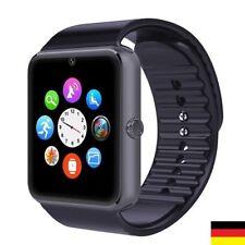 Smartwatch Bluetooth Armband Uhr für iOS iPhone Android + Kamera SIM Handy GT08