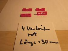 Fischertechnik 4x Statik-Rechteck-Verbinder Sammlung Konvolut Konstruktion 30 mm