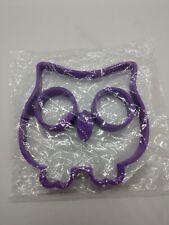 (1) OWL Shaped Silicone BREAKFAST Egg Mold/ Pancake Shaper, Nonstick