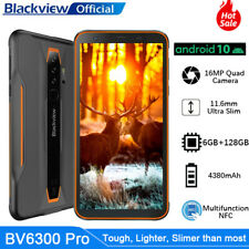 Blackview BV6300Pro Rugged Smartphone Android 10 6GB+128GB Ricarica Wireless NFC