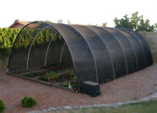 Agfabric 50% Sunblock Shade Cloth with Grommets for Garden Patio 12X14ft Black