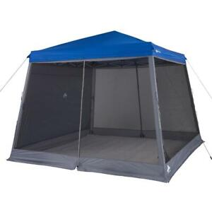 Camping Tent Canopy Accessories Pack Slant Leg Outdoor Shade Wall Screen 10'x10'