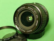 SMC Pentax-K 28mm f/3.5 wide angle lens Original K-series Sharp SLR or Mirrorles