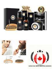 Upgraded Beard Grooming Kit w/Beard Growth Oil Beard Balm Beard Shampoo Wash