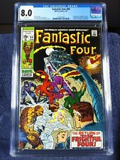Fantastic Four #94, CGC 8.0, WHITE pages, 1970, new slab