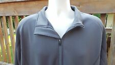 Page & Tuttle Golf Coverstitch Fleece Half-Zip Pullover Large