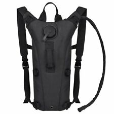 Black 3L Water Bladder Bag Military Hiking Camping Tactical Hydration Backpack