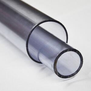 PVC Rohr Druckrohr Teichbau Aquaristik Fitting Pool transparent 500-1500mm