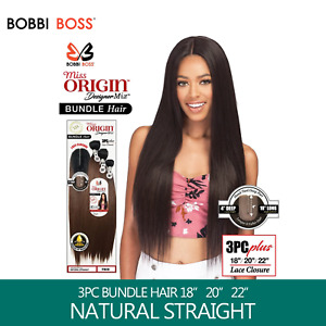 Bobbi Boss MISS ORIGIN Bundle Weaving - STRAIGHT