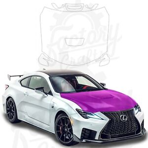 Paint Protection Film Clear PPF for Lexus RC F 2020 Full Hood