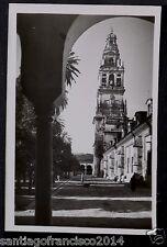 1449.-CORDOBA -5 Patio de los Narangos y Torre de la Catedral